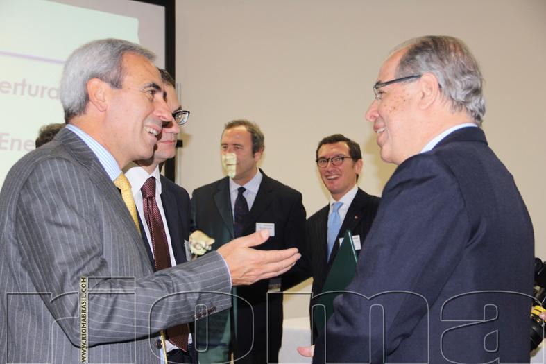 RICCARDO NEIVA TAVARES ambasciatore del Brasile in Italia e RAFFAELE CHIULLI presidente Safe