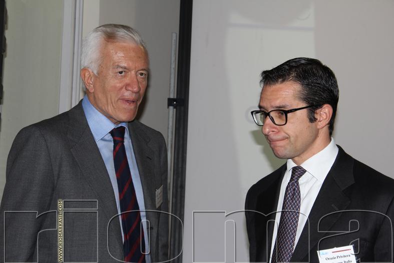 PAOLO VIGEVANO amministratore delegato Acquirente Unico spa e ORAZIO PRIVITERA amministratore delegato RenEN