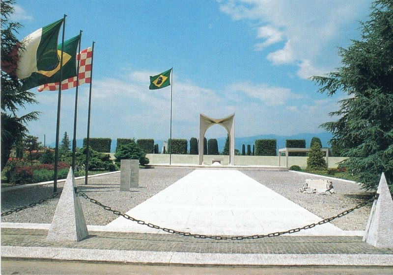 Pistoia, il Monumento Votivo Militare Brasiliano