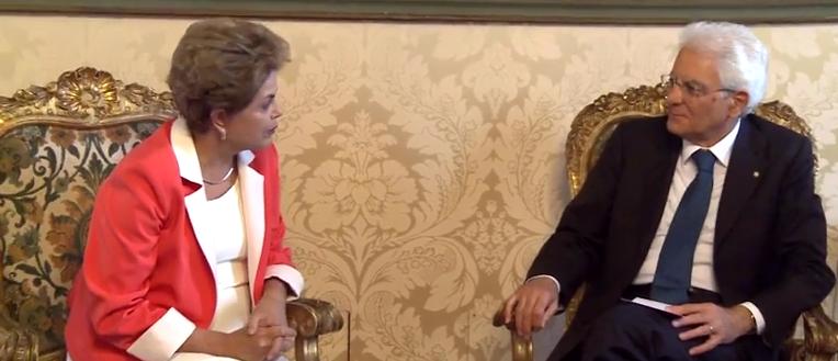 Rousseff Mattarella
