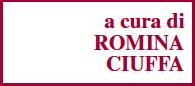 a cura di ROMINA CIUFFA