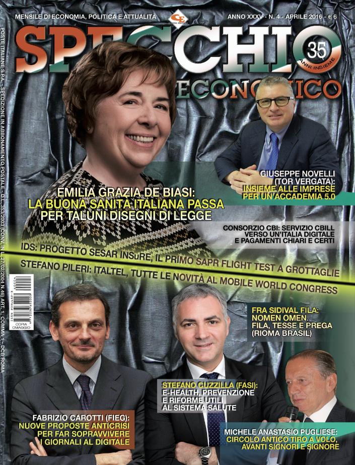 Specchio Economico Aprile 2016